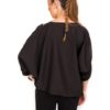 TENDANCE UNIQUE – TOP WITH PEARLS – BLACK – WINTER 2015