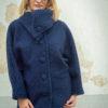 WINTER 18 – COAT – LYNX – BLUE – TENDANCE UNIQUE – MONACO
