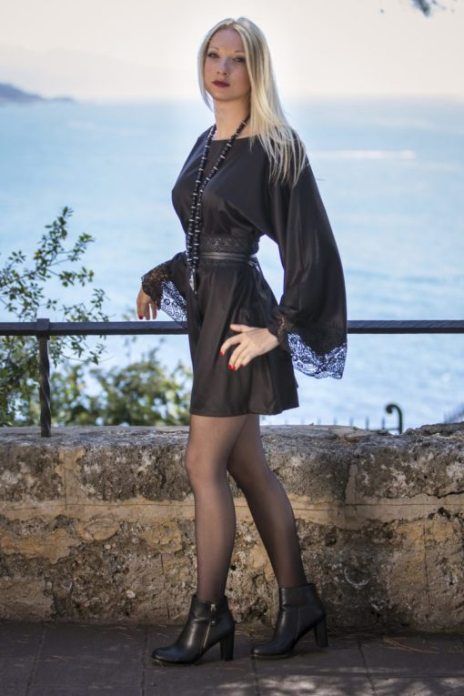 TENDANCE UNIQUE – DRESS – VINCENNES – BLACK LACE