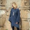 LYRA – ROBE – TENDANCE UNIQUE – HIVER 18 – MARINE – MONACO