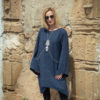 TENDANCE UNIQUE – HIVER 18 – MONACO – ROBE – MARINE – LYRA