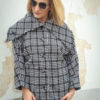 TENDANCE UNIQUE – MANTEAU – HIVER 2018 – MONACO – COLUMBA – CHINE