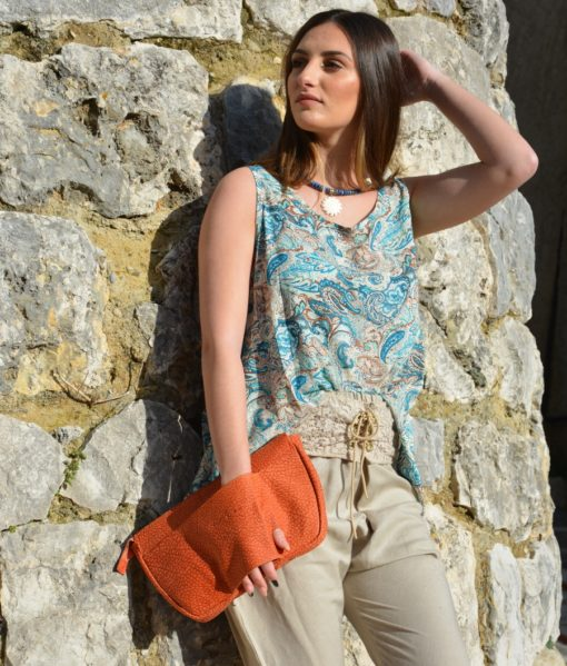ETE 20 – MONACO – TENDANCE UNIQUE – LEATHER BAG – POCHETTE